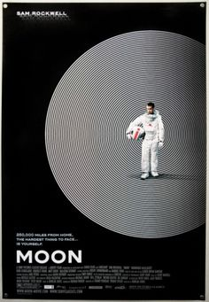 Film on Paper #minimal #poster #graphic #moon #cool