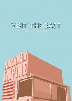 Bridging the Gap #hackney #edge #illustration #poster #and #barrett