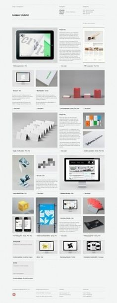 Lundgren+ Lindqvist on Grid Based #website #grid