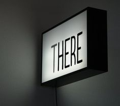 this isn't happiness™ (There), Peteski #sign #noir #there #photography #illuminated