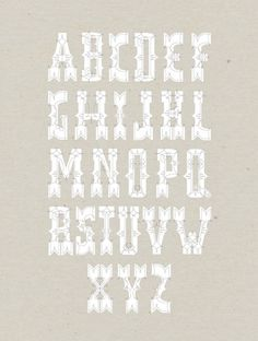 Missy Austin | Allan Peters #rad #type #typeface