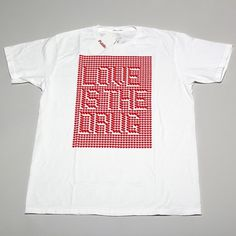 Publik T Shirt » MELVIN GALAPON #visual #pattern #shirt #distortion #drug #love