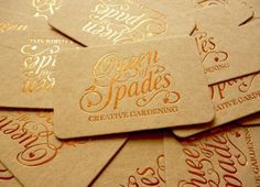 The Queen of Spades : Lovely Stationery . Curating the very best of stationery design
