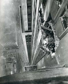17-Skyscraper-Explosion-Debris.jpg (JPEG Image, 1000×1238 pixels) #explosion #vertigo #debris #rubble #skyscraper #photography #building #vertical