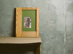 Photo Frame CBS 1114 Fly Massive Millworks #fly #massive #millworks #frame #walnut #wall #interior #modernism #wood
