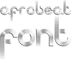 Afrobeat Font - Designed by Giuseppe Salerno #afrobeat