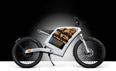 feddz cargo bikes, with wood logs #bike