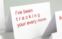 Typographic Valentines Puns #valentines #print #tracking #screen #puns #day #cards #typography