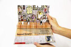 SDF Pop-up Brochure #pop #up #poster #popup #3d #brochure