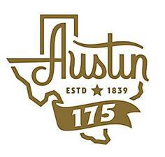 #logo #Austin # Texas # state #script #font