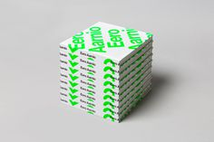 #publication #book #cover #Scandinavian #modernism #typography #green #Neue Haas Grotesk