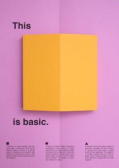 thisisbasic_posters_square #fold #print #minimal #poster