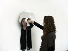 Holle by Geoffroy Gillant #mirror #minimalist #design #minimal