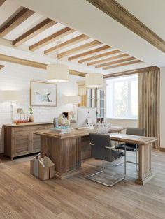 Head Office beautiful classic design by Anton Medvedev - HomeWorldDesign (9) #interior #office #design #space #work