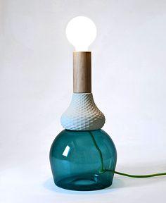 MRND Lamps by Elena Salmistraro - #lamp, #design, #lighting, #productdesign, #industrialdesign, #objects