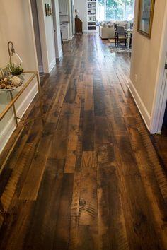 Old World Timber has done the quality flooring work in Lexington, Kentucky named as Heartland Barnwood #SkipPlanedFlooring. #Flooring #Recla