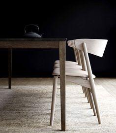 Sibast Chairs - #design, #furniture, #chair