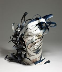 Artist Creates Ceramic Sculptures That Unwind Before Your Eyes