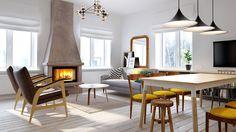 Elegant duplex apartment in Moscow INT2 Architecture - HomeWorldDesign (1) #interior #design #moscow #apartment #duplex