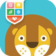 Wee_Alphas_Icon_964x964 #illustration #app #animals