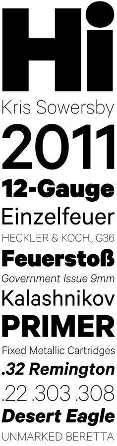 Calibre by Kris Sowersby #serif #sans #klim #geometric #type #typography