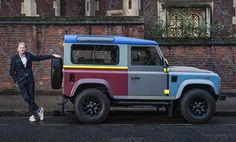 💯 A Closer Look At Sir Paul Smith's Bespoke Land Rover Defender #PaulSmith #Defender #instacars