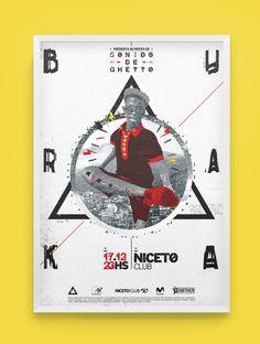 Buraka Som Sistema - Sonido de Ghetto / Edición de Lujo on Behance #poster