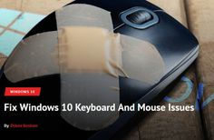 How To Fix Windows 10 Mouse And Keyboard Not Working Issue?