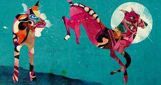 HOME : Alvaro Tapia Hidalgo #illustration #colorful