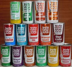 Jolly Good | Flickr - Photo Sharing! #packaging #soda #vintage #1970s