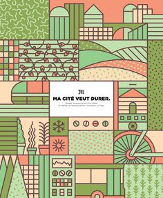 Abstract illustration, communicating texture over content. Illustrations for Le Monde. #abstract #vector #geometric #texture #monde #illustration #la #tigre #le #patterns