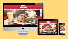 Frankies Sports Bar & Diner at Chelsea FC  Website design