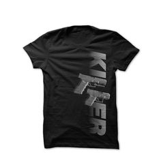 Image of Killer #f&a #gun #tshirt #black #killer