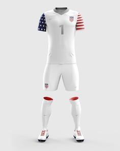 Concept USA Nike Soccer jeseys