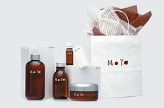 moya packaging design 2 #packaging #label #bottle #dropper