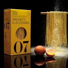 Sandro Desii | Pasta (Packaging, Identity) by Lo Siento Studio, Barcelona #packaging #pasta #premium #box