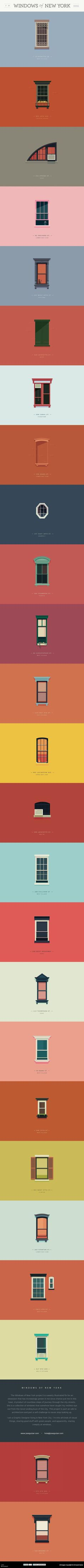 graphic illustrations of window