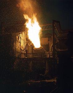 Histoire de la production de l'acier - Wikipédia #steel #1941 #photo #convertisseur #fire #acier
