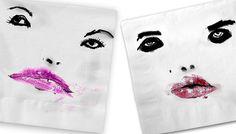 sara-rabin-napkin #lipstick
