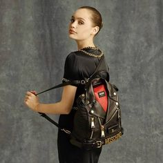 Moschino Pre-Fall 14 collection by Jeremy SCOTT #bag #jeremyscott #moschino