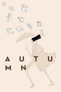 S PATTEN #illustration #autumn #patten