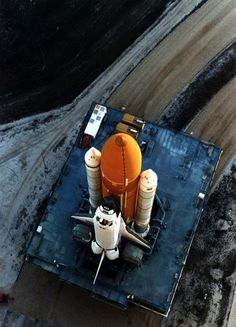 Drop Anchors #shuttle #aerial #nasa #launch #space #photography #rocket