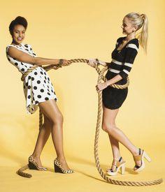 Stephanie Hynes Photography #hynes #stephanie #yellow #rope #photography #fashion #dress #cantwell