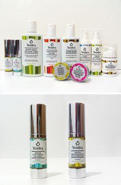 Yeidra, Diseño de packaging #packaging #cosmetica #envases #granada