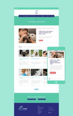 CHAH International Website Design #houston #webdesign #website #design