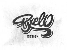 Pixelo Logo by Gert van Duinen #inspiration #creative #lettered #personalized #design #illustration #logo #hand