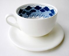 Duffy London - Storm in a Teacup #teacup #jenny #in #design #storm #idea #tea #wilkinson