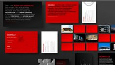 Regino Cruz Arquitectos - Web design inspiration from siteInspire #identity #red