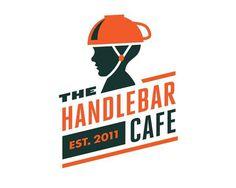The Handlebar Cafe by Doug Hucker, Baltimore #mark #logo #identity #branding