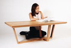 Yaakov Lyubetsky - Crossroads: Coffee Table #design #book #wood #furniture #industrial #coffee #table